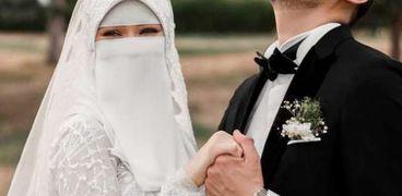 الدكتور محمد طه وزوجته سلمى