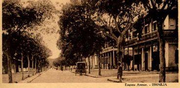 شارع ميدان شمبليون حيث منزل العائلة اليهودية