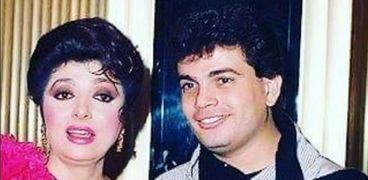 نبيلة عبيد مع عمرو دياب