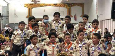 الشباب بالغربية يكرم أعضاء مهرجان الكشفي والإرشادي لمجموعات المحلة