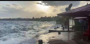 غرق الشواطئ