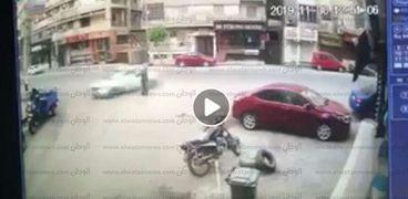 حادث تصادم سيارة - ارشيفية