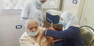 تطعيم لقاح كورونا بالقليوبية