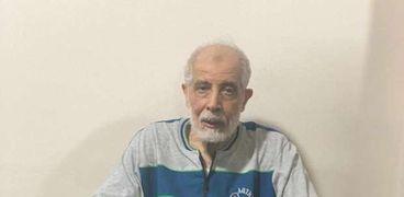 الإرهابي محمود عزت بعد القبض عليه