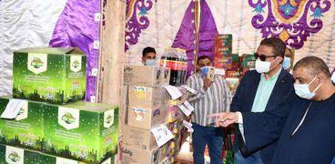 افتتاح معرض أهلا رمضان بالفيوم