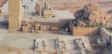 وزارة الآثار تنتهي من المرحلة الثانية لمشروع ترميم معبد دندرة بقنا