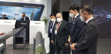 وزير لإنتاج الحربي يشارك في فعاليات معرض «ADEX 2021» بكوريا الجنوبية