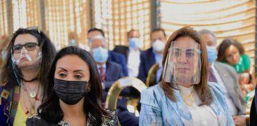 مايا مرسي تشهد افتتاح المساحة الصديقة للنساء بعزبة البرج في دمياط