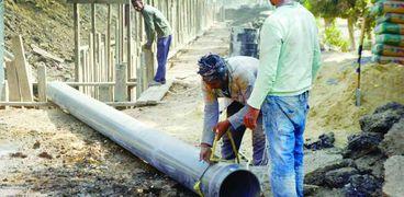 عمال «المشروعات القومية»: العمل 24 ساعة لتنفيذ المهمة