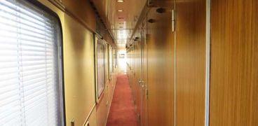 قطار النوم من الداخل ضمن الخدمة الجديدة بين القاهرة ومطروح