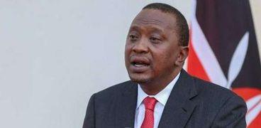 رئيس كينيا أوهورو كينياتا