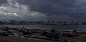 سماء الإسكندرية اليوم