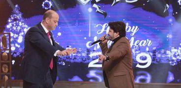 مصطفى حجاج وعمرو أديب