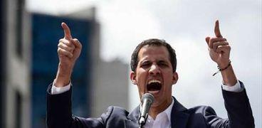 زعيم المعارضة الفنزويلية خوان جوايدو