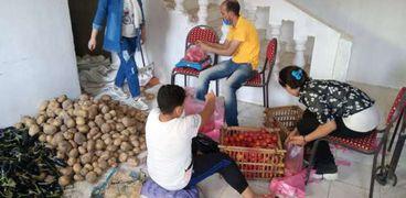 مبادرة الشاب سيد عزاز لدعم العمالة غير المنتظمة