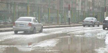 أمطار الدقهلية