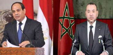 السيسي والملك محمد السادس