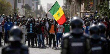مظاهرات في السنغال