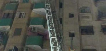 السيطرة على حريق فندق طنطا: ماس كهربائي في غرفة الاسانسير