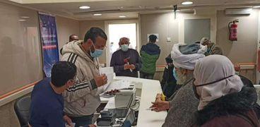 تسجيل المواطنين الراغبين فى الحصول على لقاح كورونا