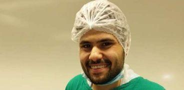 الدكتور مصطفى اللقاني، مدرس مساعد النساء والتوليد بطب كفر الشيخ