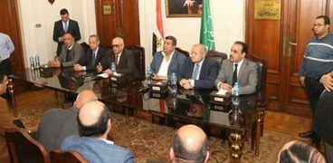 اجتماع الهيئة العليا بحزب الوفد