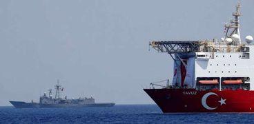 التنقيب التركي في شرق المتوسط