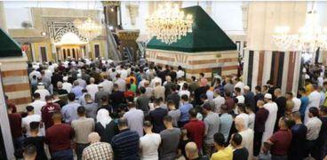صلاة العيد في الحرم الإبراهيمي