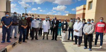 مستشفى عزل النجيلة