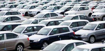 مزاد لبيع سيارات