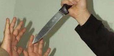 طعن بسكين