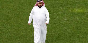 ركي آل الشيخ رئيس هيئة الترفيه في المملكة العربية السعودية ومالك نادي بيراميدز