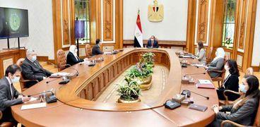 الرئيس يجتمع برئيس الوزراء