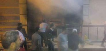 بالصور: حريق هائل في معمل تفريع كتاكيت ونفوق نحو 1000 كتكوت في دمياط