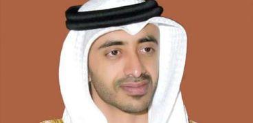 وزير الخارجية الإماراتي