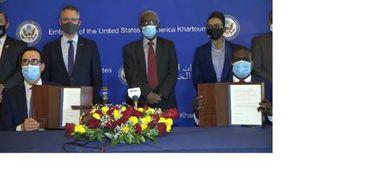 توقيع اتفاق إبراهام في السودان