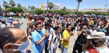 احتجاجات طلاب الإسماعيلية