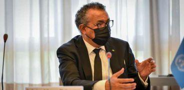 الدكتور تيدروس أدهانوم مدير عام منظمة الصحة العالمية،