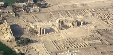 معبد الرمسيوم- أرشيفية
