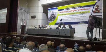 بدء مؤتمر نقابة المهندسين لمناقشة قانون التصالح على مخالفات البناء