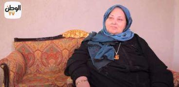 والدة الشهيد أحمد صابر منسي