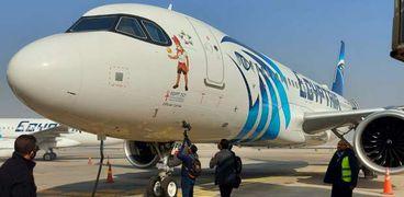 طوارئ بمطار القاهرة الدولي بالتزامن مع بدء وصول المنتخبات المشاركة بكأس العالم لكرة اليد