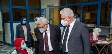 رئيس لجنة كورونا بجامعة طنطا: لم نسجل إصابات في لجان الامتحانات