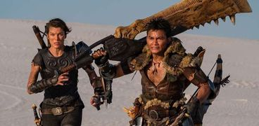 مشهد من فيلم Monster Hunter