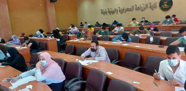 إمتحانات الترم الثاني بكلية الزراعة الصحراوية بجامعة مطروح