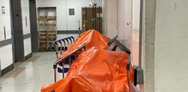 جثث ضحايا فيروس كورونا في الولايات المتحدة