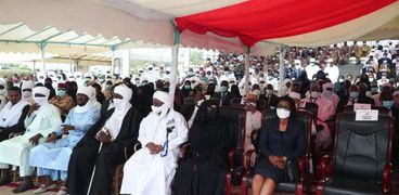جانب من جنازة إدريس ديببي في نجامينا
