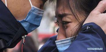 انتشار فيروس كورونا في الصين
