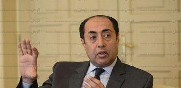 حسام زكي الأمين العام المساعد لجامعة الدول العربية