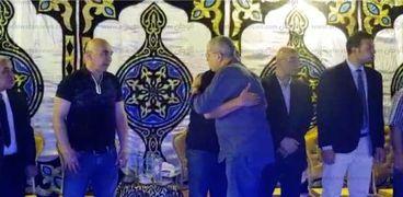 عزاء شقيق التوأم حسام وابراهيم حسن